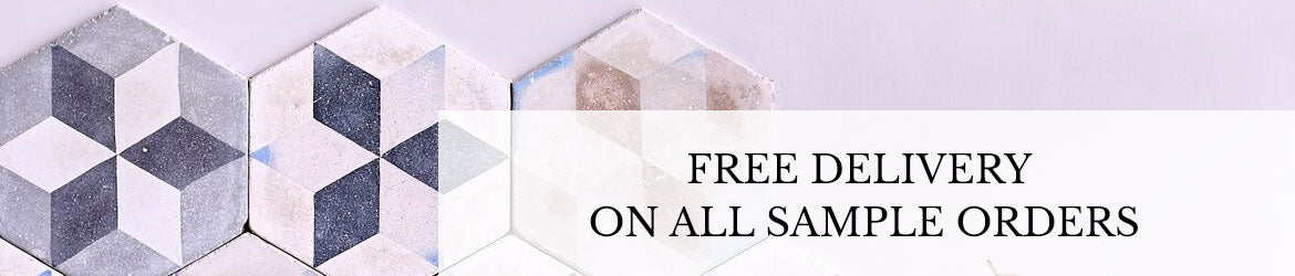 Free delivery on all tile sample orders