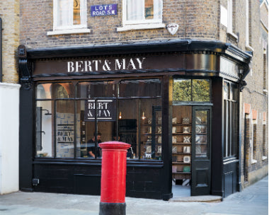 Bert & May Lots Road showroom