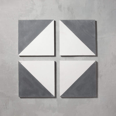 Black Alalpardo Tile Tiles - Handmade