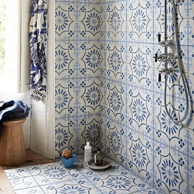 Bolonia Blue Tile (FE Exclusive) Tiles - Handmade