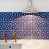 Blue Octagon Tile Tiles - Handmade