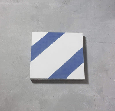 Blue Salon Tile Tiles - Handmade