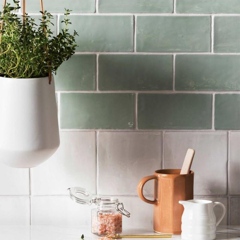 Timeless Brighton Stone Square Tile Tiles - Glazed
