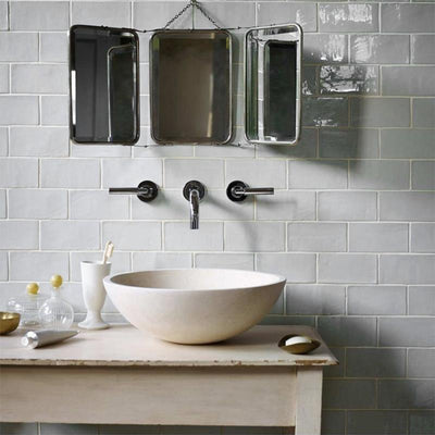 Timeless Brighton Stone Rectangle Tile Tiles - Glazed
