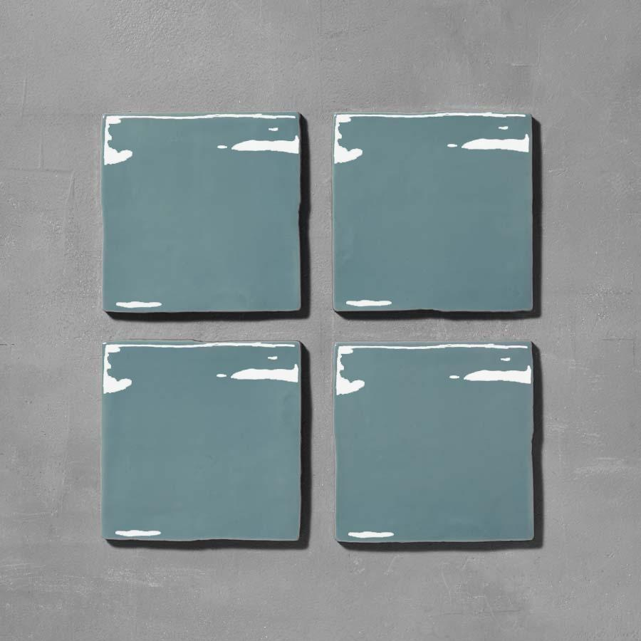 Timeless Lake Square Tile Tiles - Glazed