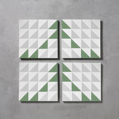 Forest Majadas Tile Tiles - Handmade