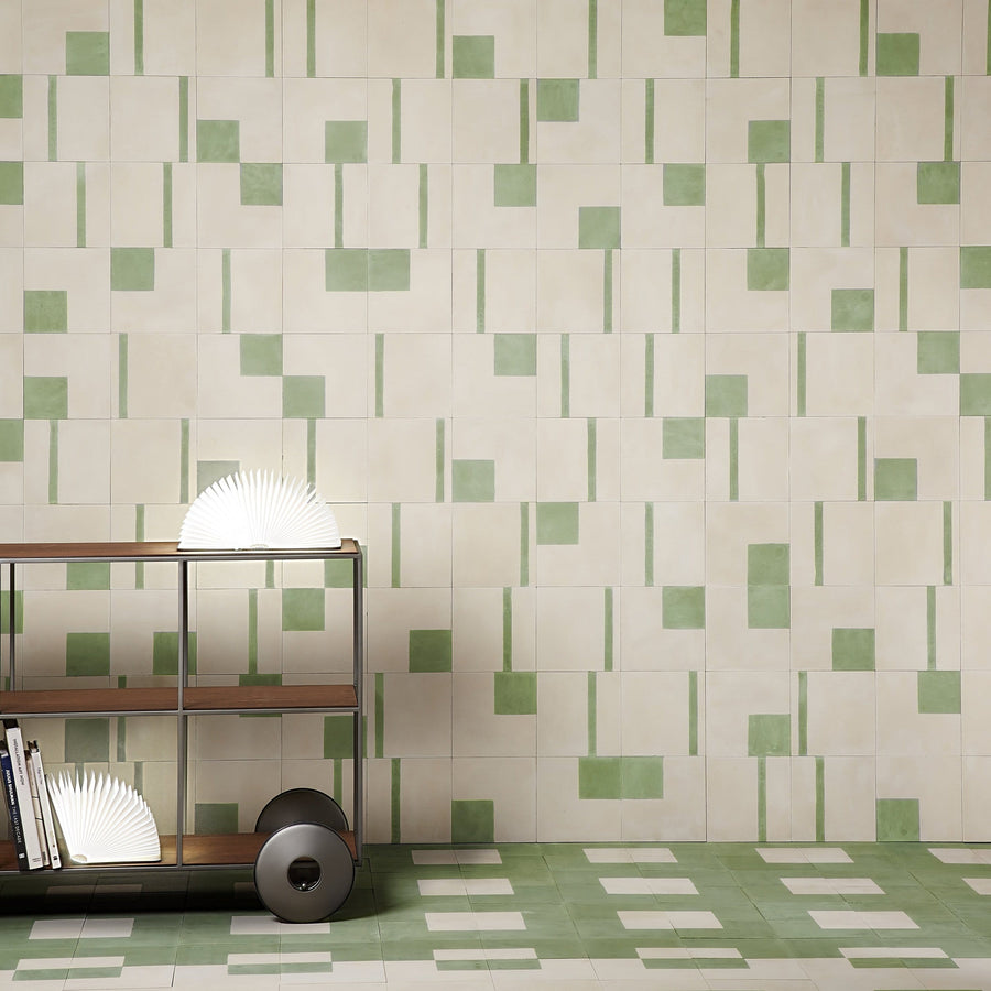 Forest Rubix Tiles - Handmade