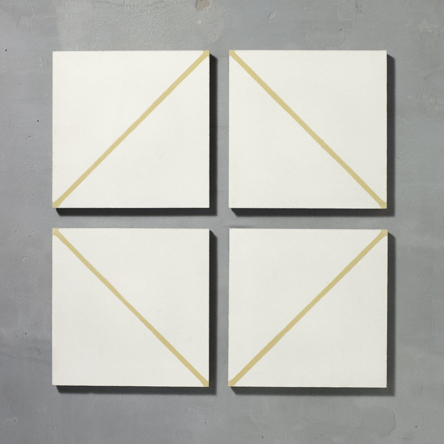 Gold Pencil Alalpardo Tile Tiles - Handmade