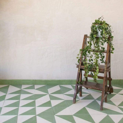 Green Alalpardo Tile Tiles - Handmade