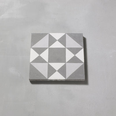 Grey Asquith Tile Tiles - Handmade