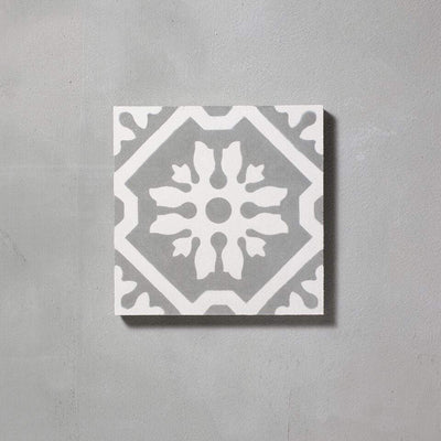 Grey Basco Tile Tiles - Handmade
