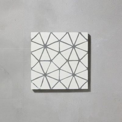 Grey Octagon Tile Tiles - Handmade