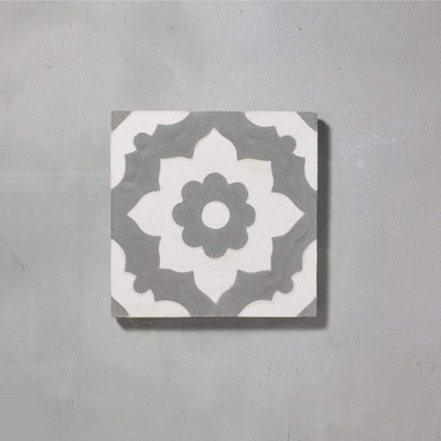 Grey Santona Tile Tiles - Handmade