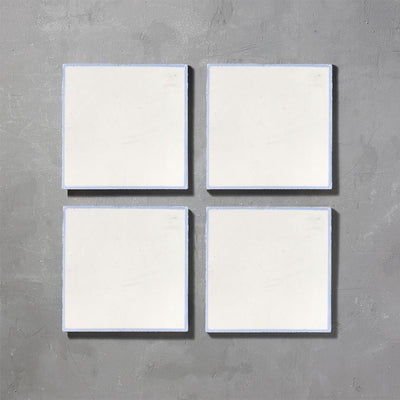 Grid 01 Inverse Lake Tile Tiles - Handmade