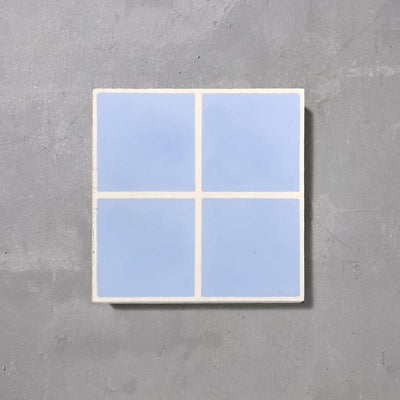 Grid 04 Lake Tile Tiles - Handmade