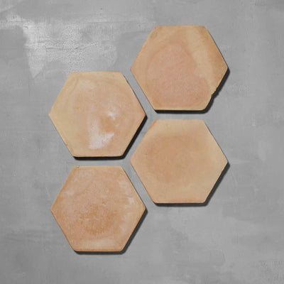 Handmade Hexagonal Terracotta Tile Tiles - Handmade