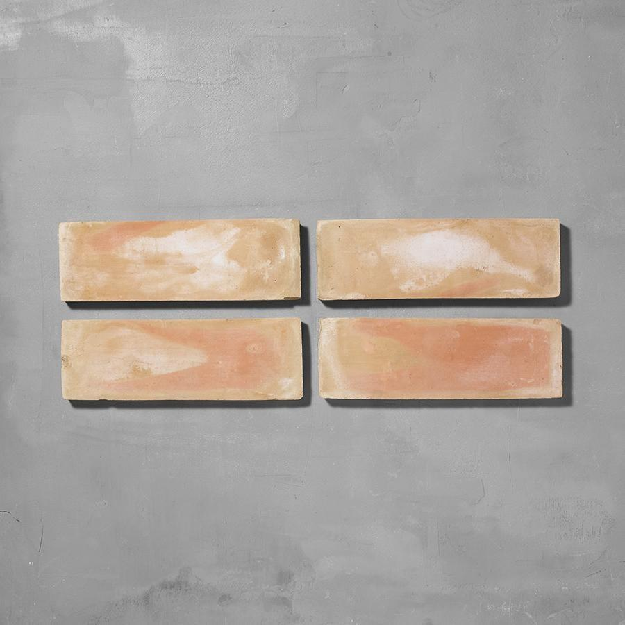 Handmade Rectangle Terracotta Tile 10 x 30cm Tiles - Handmade Terracotta