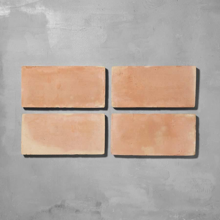 Handmade Rectangle Terracotta Tile Large Tiles - Handmade