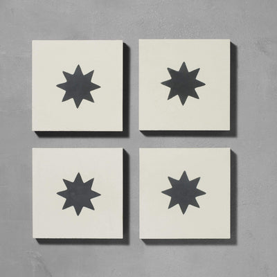 Inverse Luna Old Iron Tile Tiles - Handmade