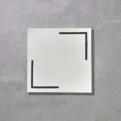 Linear Tile Tiles - Handmade