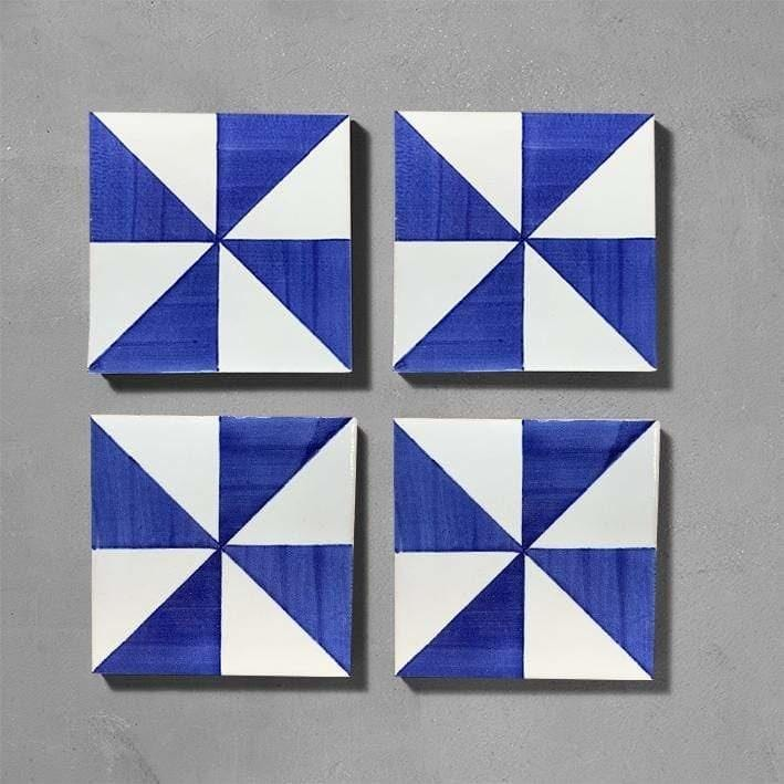 Lisboa Glazed Square Tile Tiles - Glazed