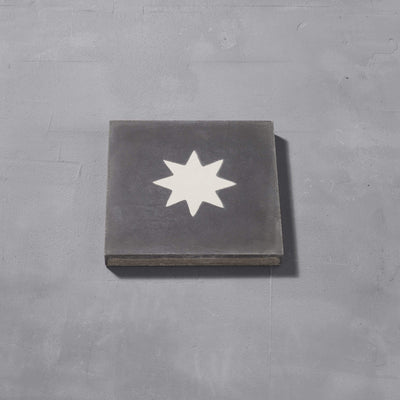 Luna Old Iron Tile Tiles - Handmade