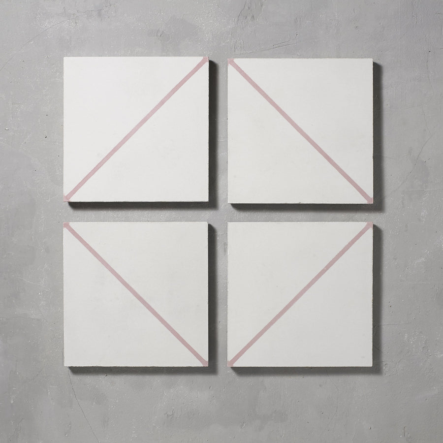 Pink Pencil Alalpardo Tile Tiles - Handmade