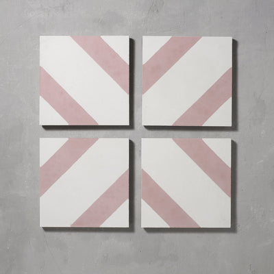 Pink Salon Tile Tiles - Handmade