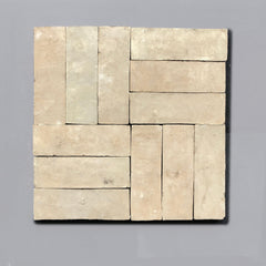 Raw Bejmat Tile per SQM Tiles - Handmade Terracotta