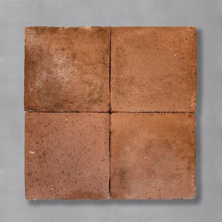 Reclaimed Square 27 x 27 Terracotta Tile 35.25sqm Lot Tiles - Reclaimed