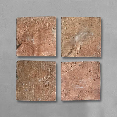 Reclaimed Square Terracotta 25x25 Tile 14sqm lot Tiles - Reclaimed