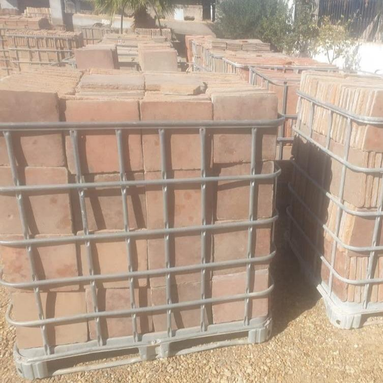 Reclaimed Square Terracotta 25x25 Tile 20sqm lot Tiles - Reclaimed