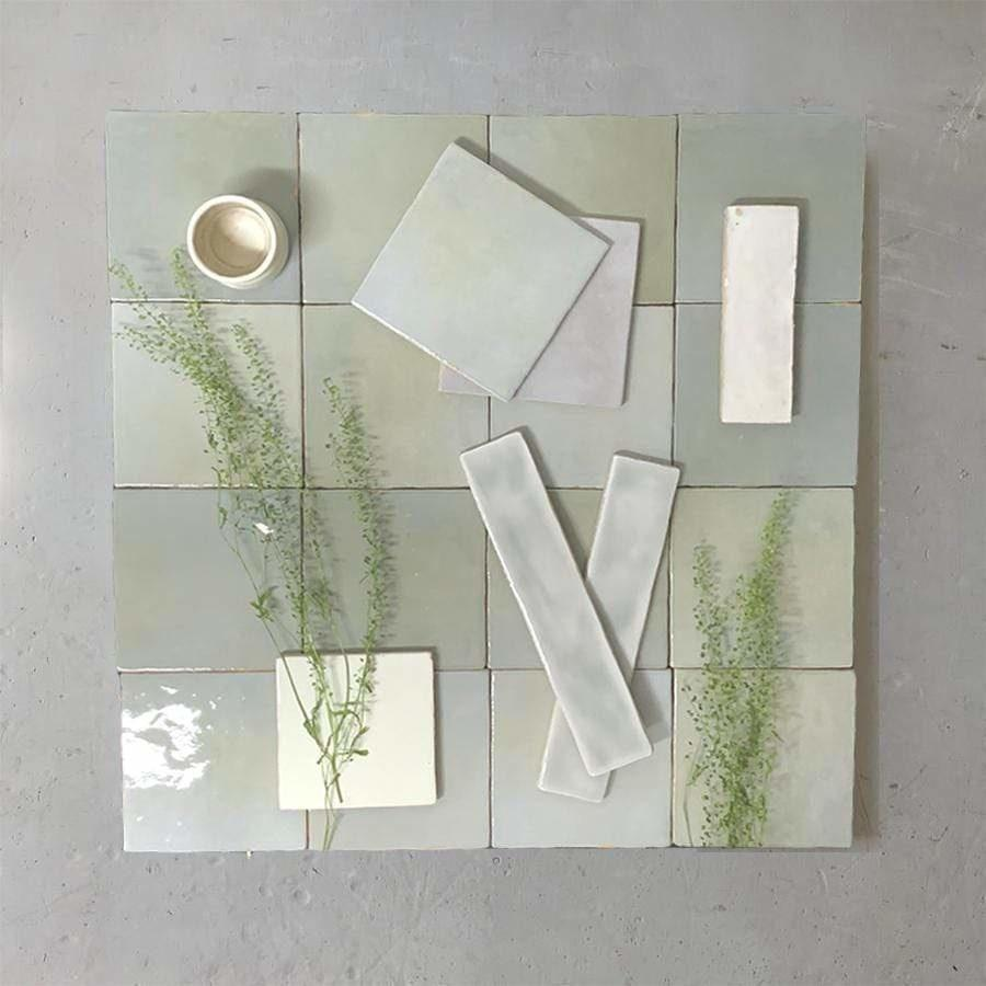 SHADES SAGE Tile per SQM Tiles - Glazed