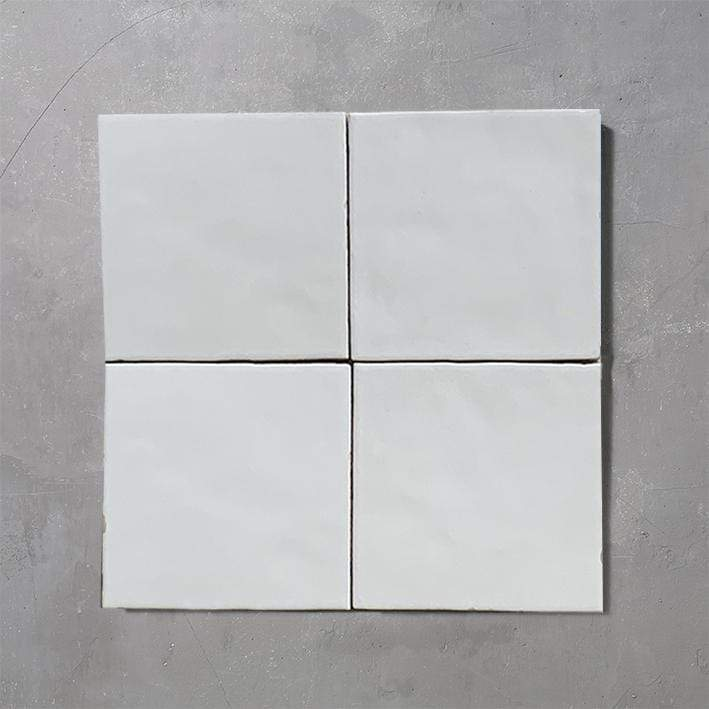 SHADES WHITE Tile per SQM Tiles - Glazed