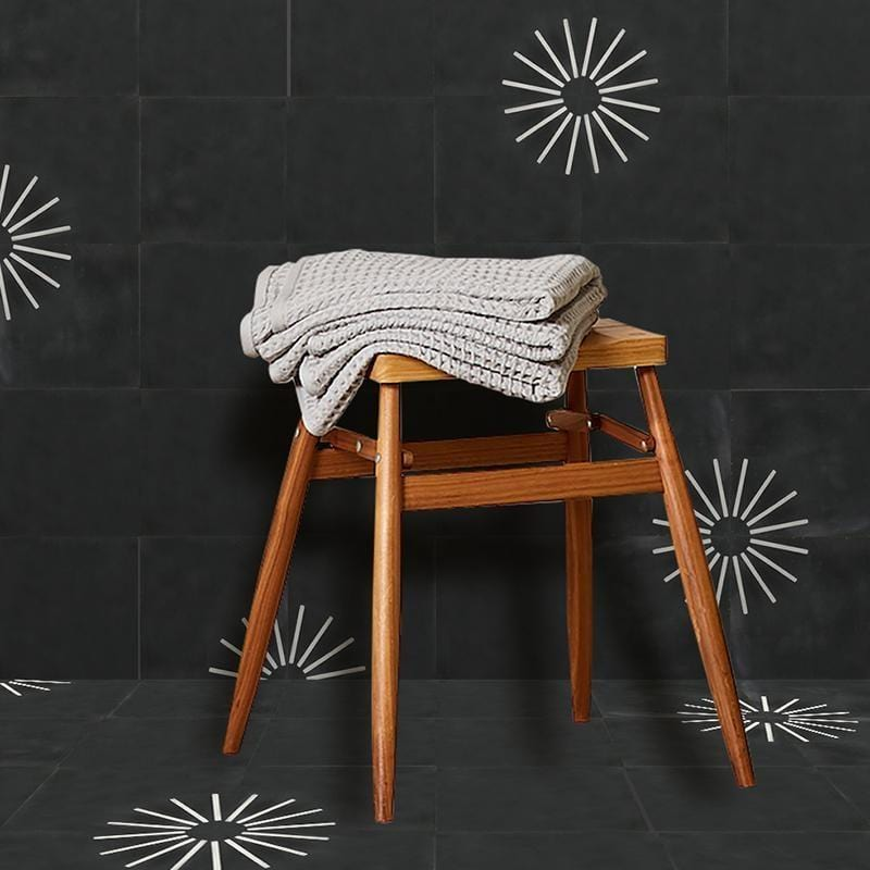 Spokes Tile Tiles - Handmade