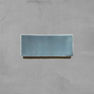 Stormy Grey Glazed Rectangle Tile Tiles - Glazed