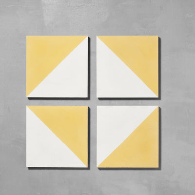 Yellow Alalpardo Tile Tiles - Handmade