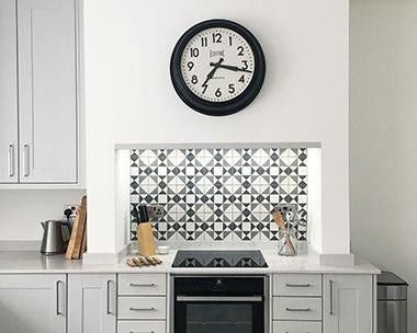 Monochrome tiles