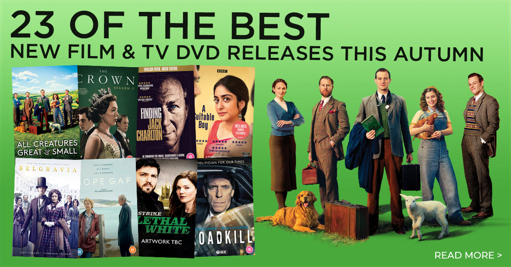 23 of the best new film & TV DVD releases this autumn
