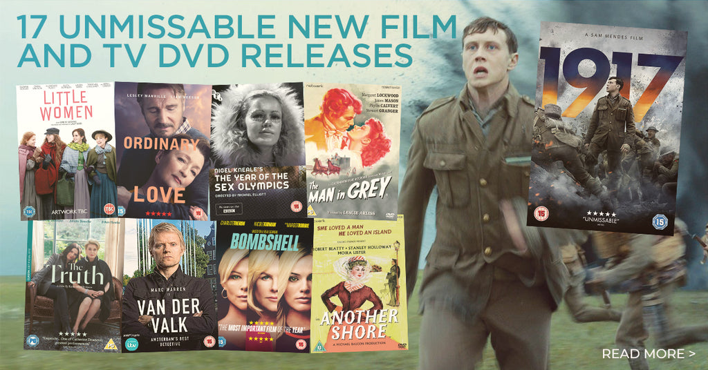 17 Unmissable New Film & TV DVD Releases