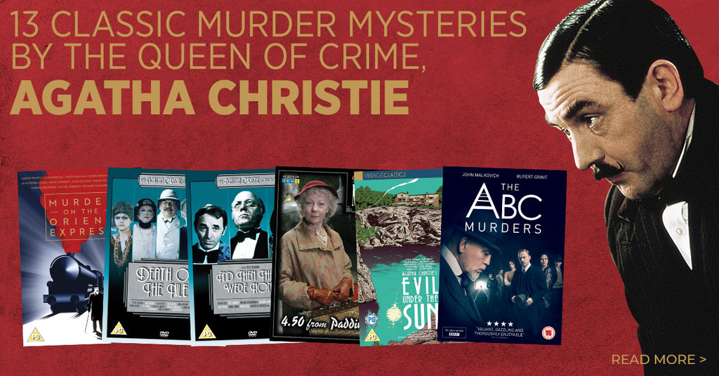 13 classic murder mysteries by the Queen of Crime, Agatha Christie