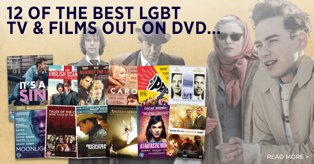 12 of the best LGBT TV & Films out on DVD!