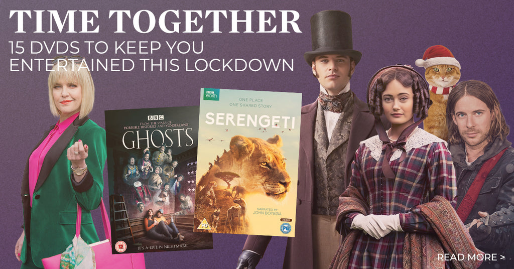 Time Together – 15 DVDs to keep you entertained this lockdown