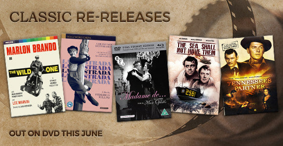 Classic Film Releases on DVD in June
