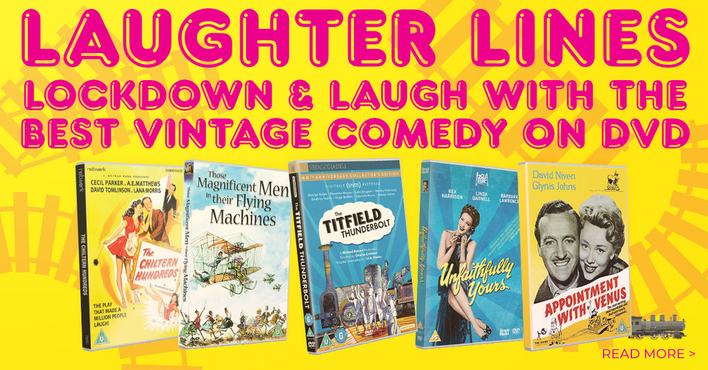 Laughter Lines – 11 vintage film comedies