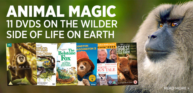 Film and TV DVDs, of dramas and documentaries featuring animals on Screen. Available at Simply Home Entertainment