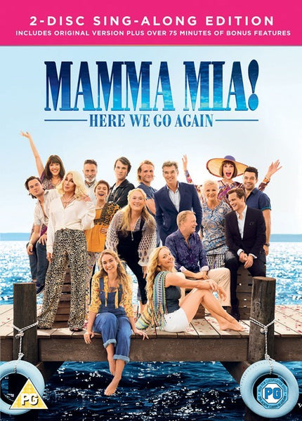 Mamma Mia: Here We Go Again! (DVD)