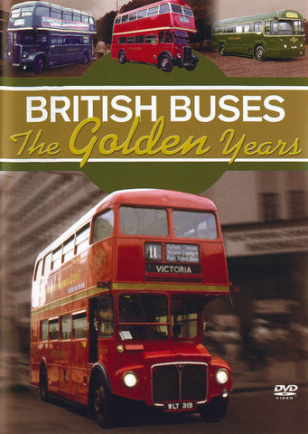 British Buses The Golden Years (DVD).Cover Image