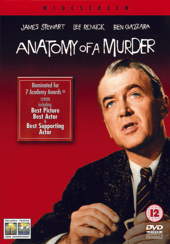 Anatomy Of A Murder  [2001] (DVD).CoverIMG