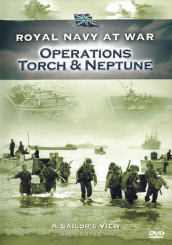 Royal Navy at War - A Sailors View: Operations Torch & Neptune (DVD).CoverImg